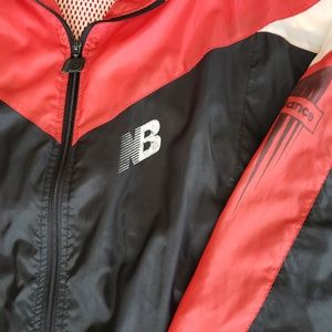 69857928f040c New Balance Jackets & Coats - New Balance Vintage 90's Windbreaker Jacket  Red